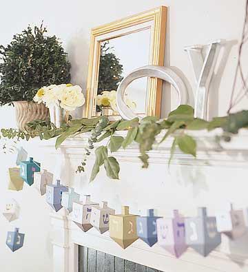 Hanukkah decoration ideas let 39 s celebrate for Hanukkah home decorations