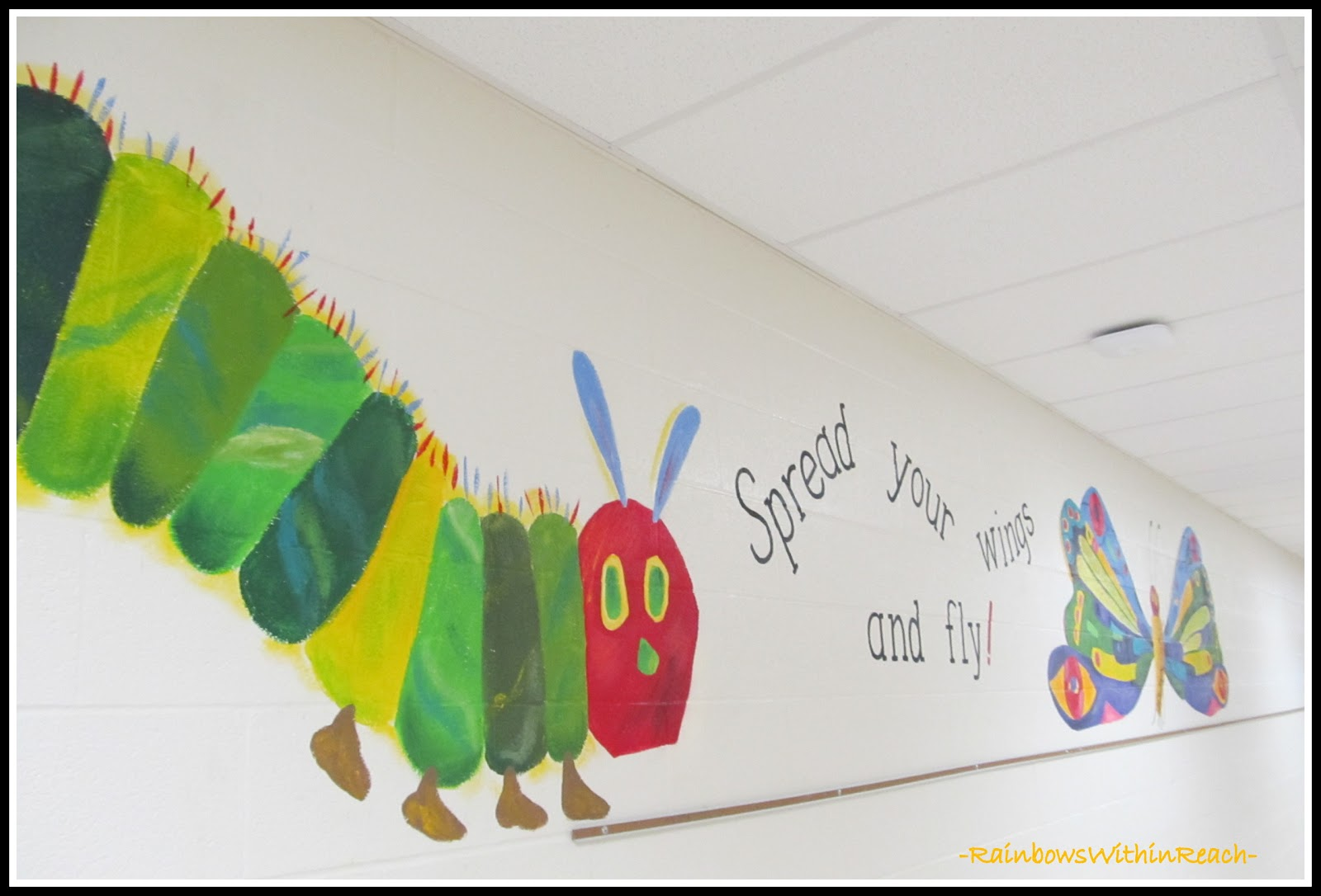 1000 images about mural and school wall ideas on for Eric carle mural