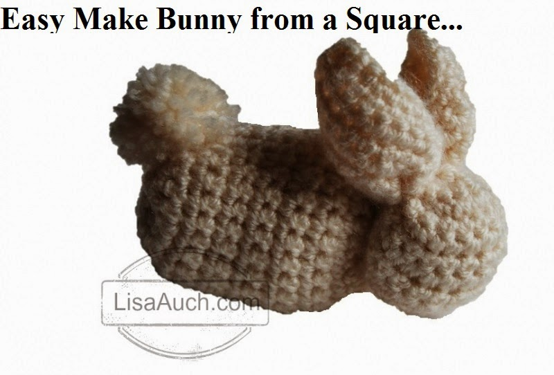 Free Crochet Patterns And Designs By Lisaauch Easy Cute Bunny Made