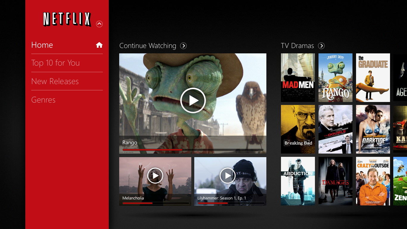 Watch Netflix Windows