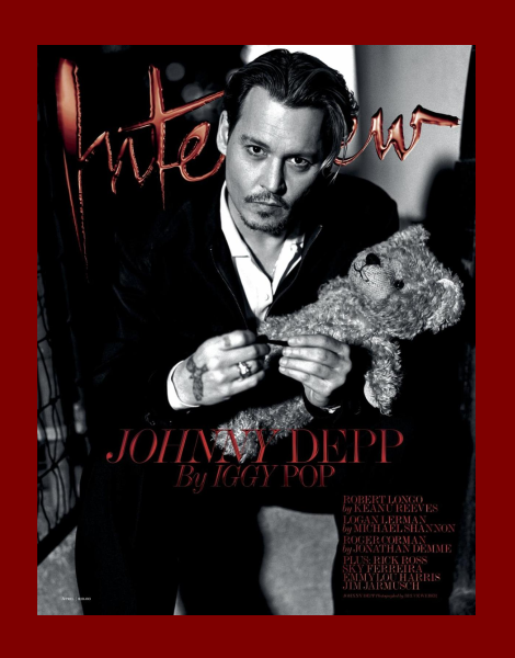Johnny Depp by Bruce Weber for Interview Magazine April 2014