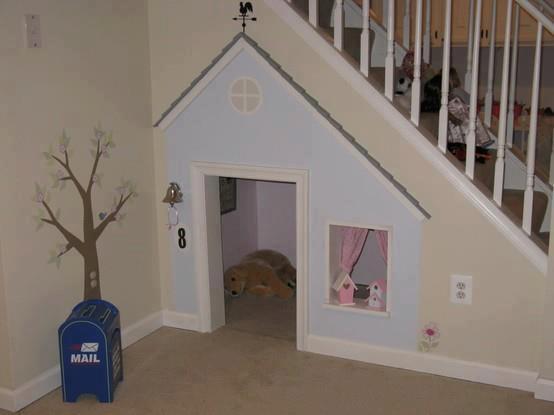 Baño Bajo Escalera Planos: Mil ideas para la casa y el jardin ♥: Casita bajo las escaleras