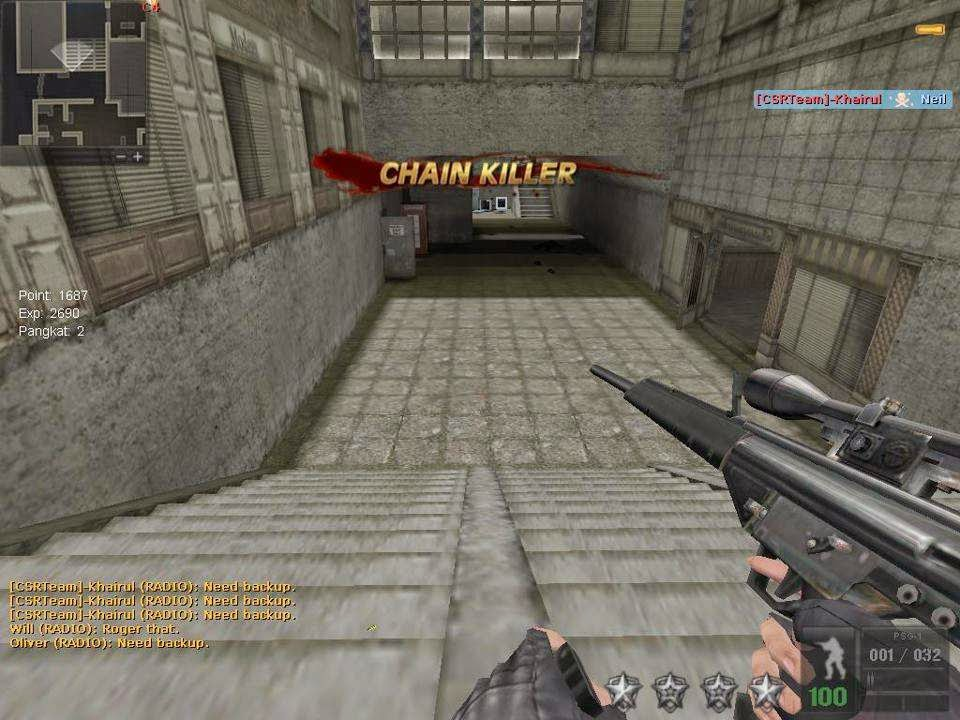 Change your Counter Strike into Point Blank, from maps, weapons