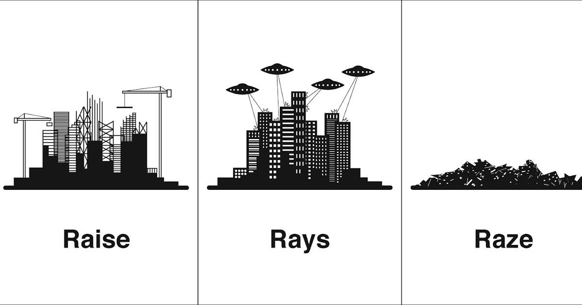 Devil 16 Car >> Homophones, Weakly: Raise, Rays, Raze