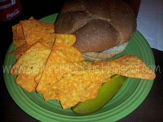 Better Bean Burger + Doritos