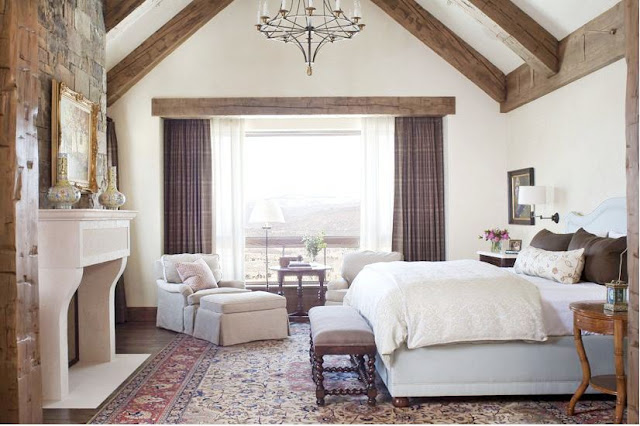 Xo boudoir xo on pinterest headboards guest rooms and canopies Master bedroom ceiling beams