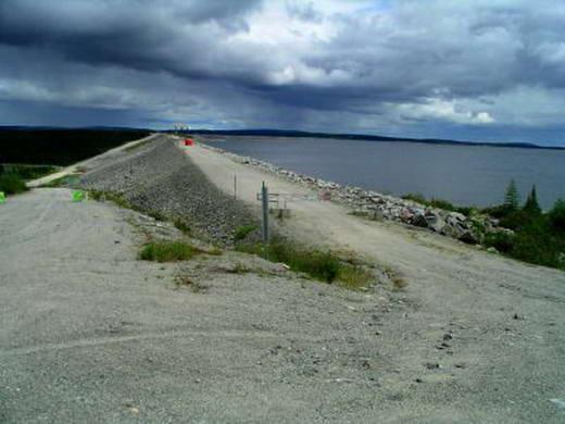 Caniapiscau Reservoir dam 10 Bendungan Terbesar di Dunia