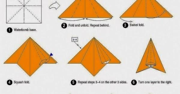 Paper Crafts Origami For Kids Rocket Instructions