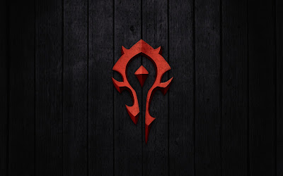World of Warcraft Horde Emblem Minimal HD Wallpaper