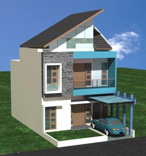 koleksi gambar desain rumah minimalis modern hargaikataku