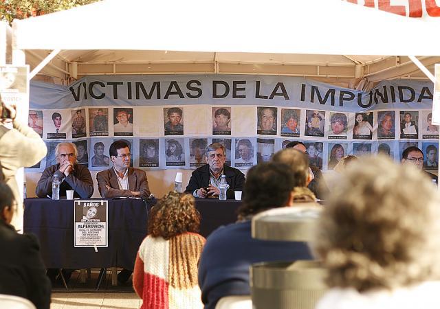 La plaza Independencia volverá a llenarse de relatos de la impunidad