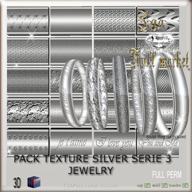 PACK TEXTURE SILVER SERIE 3 JEWELRY