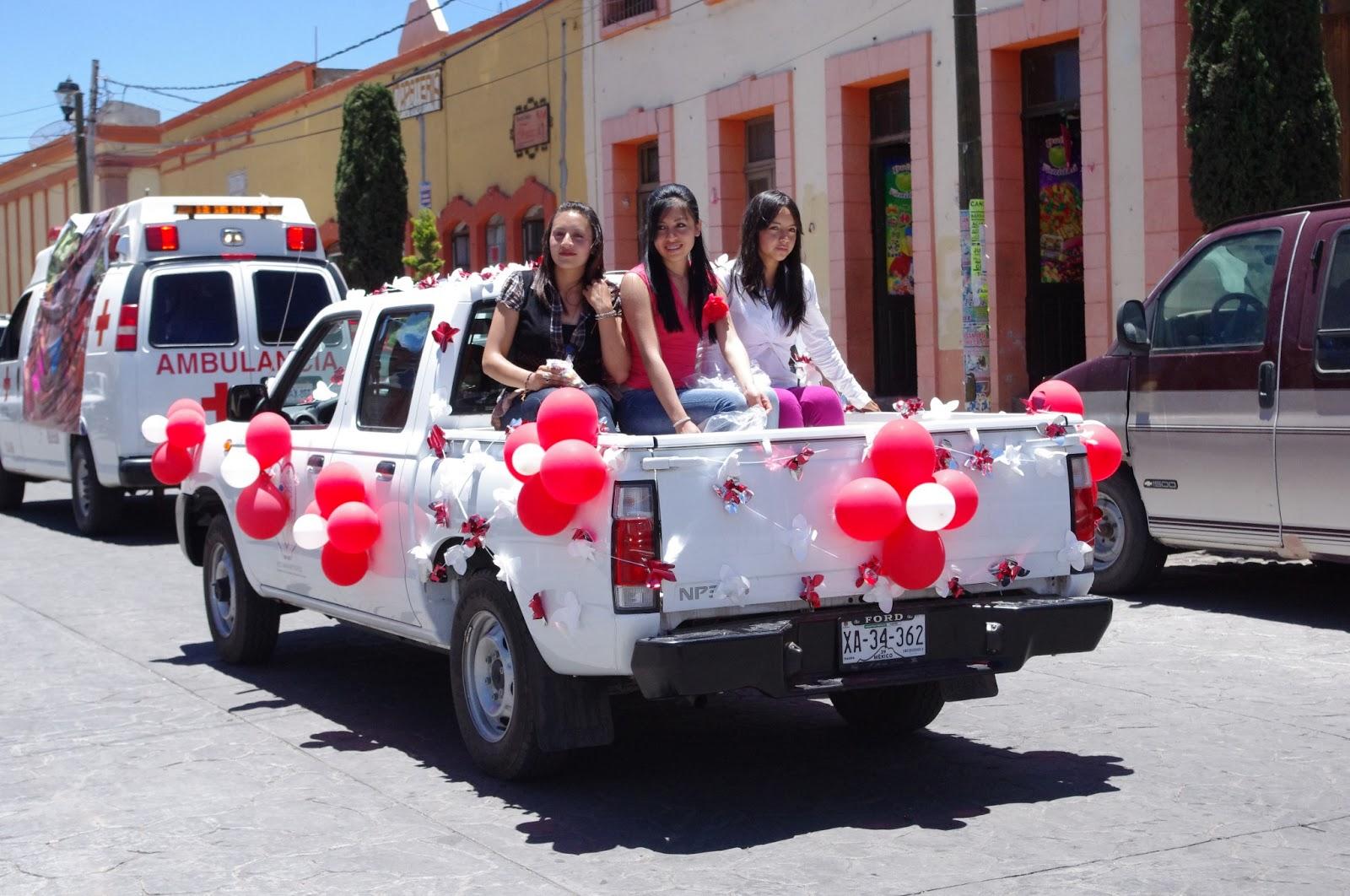 TLAXCO ReViStA vIrTuAl CARRO GRIS: Desfile de Cruz Roja