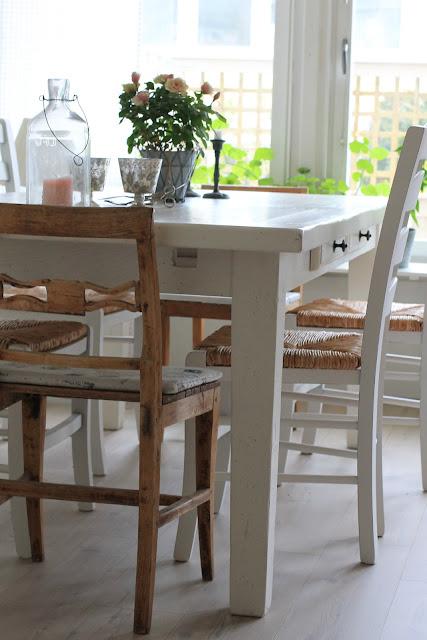 Sma Koksbord : Chovre & Cinsault Vort franska koksbord