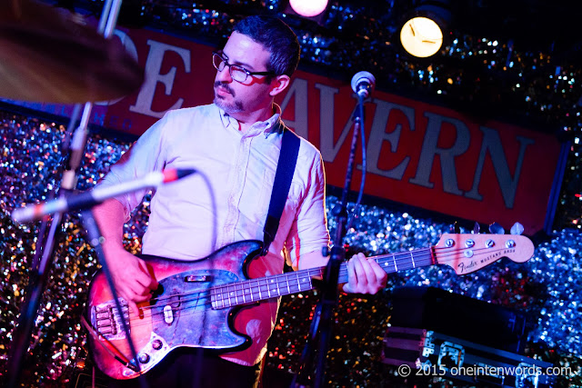 Telekinesis at The Legendary Horseshoe Tavern Toronto October 25, 2015 Photo by John at One In Ten Words oneintenwords.com toronto indie alternative music blog concert photography pictures