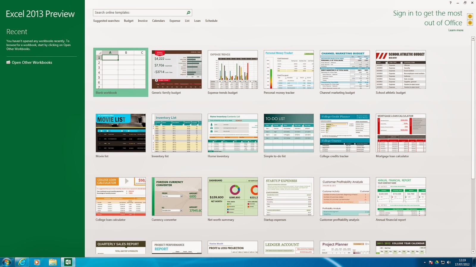 Microsoft Office Professional Plus 2013 Excel