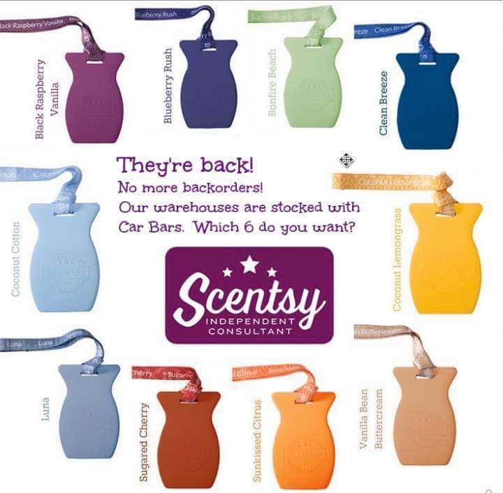 Best Scentsy Car Bar Scents