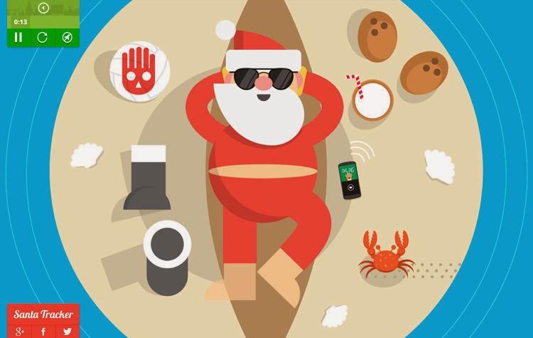 Google Santa Tracker, Help Santa Spread Christmas Gifts
