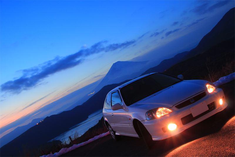 Honda Civic VI hatchback, kultowe auto, VTEC is kicking in, pasja, fotki
