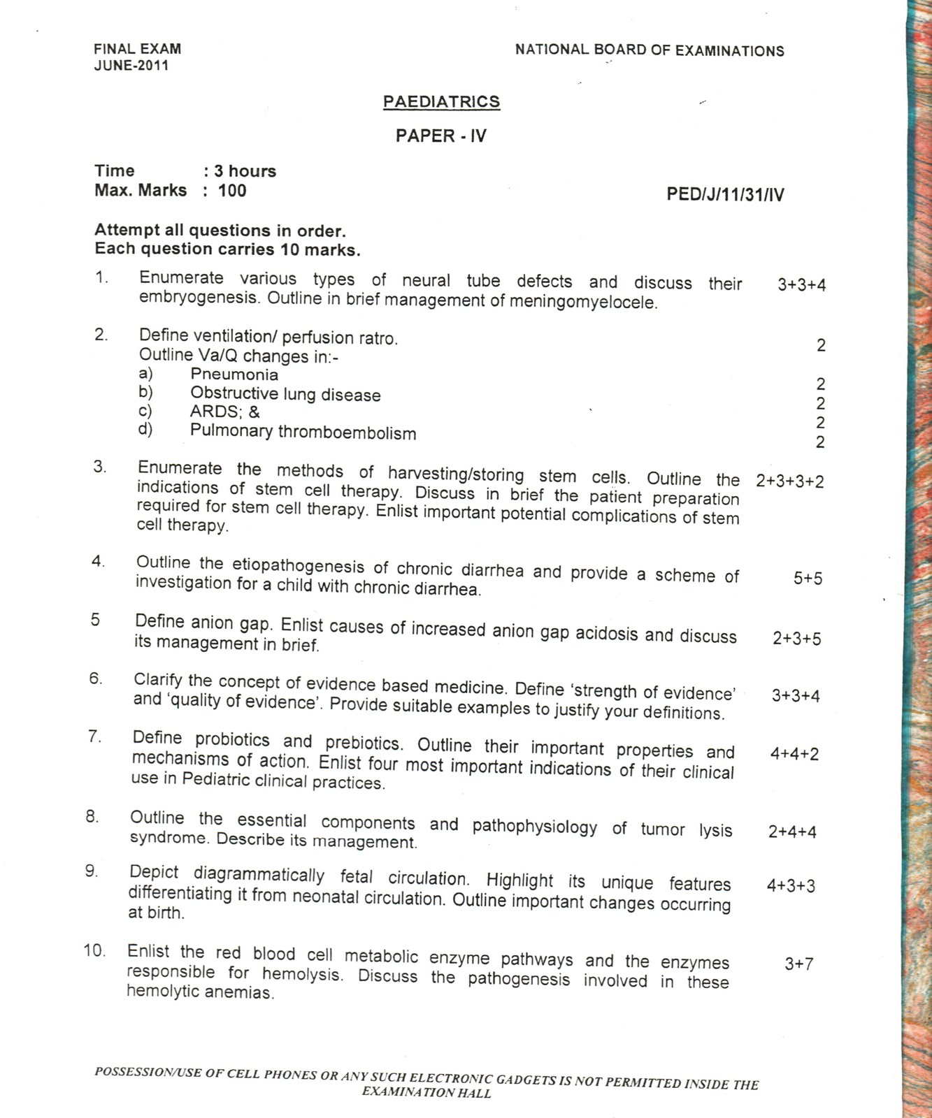 dnb thesis topics in pediatrics