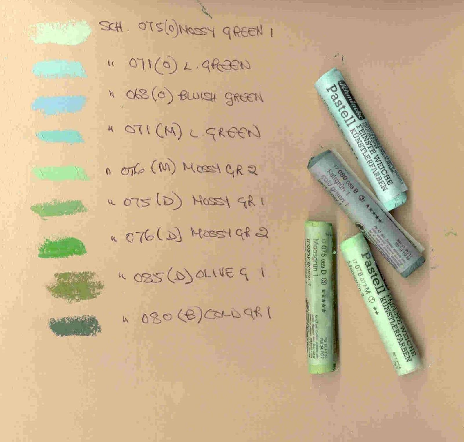Pastels Color Chart Seatledavidjoel