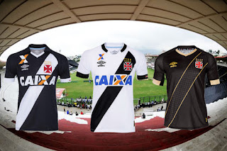 Uniforme I, II e III Umbro Vasco 2015