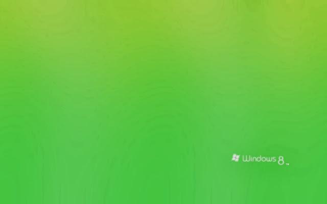 Windows 8 Green Wallpaper