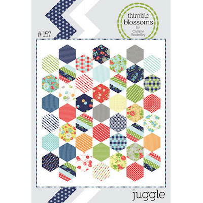 Thimble Blossoms JUGGLE Quilt Pattern