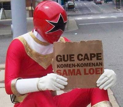 Gue Capek Komen-komenan Sama Loe