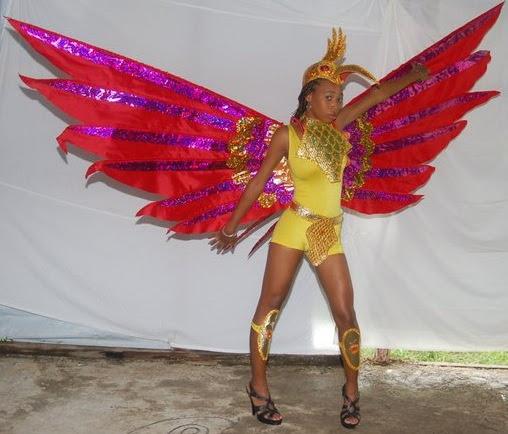 SLU Carnival 2011: Looshan Revellers Cotumes