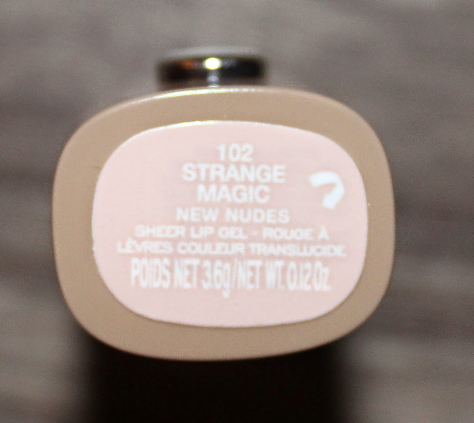 Marc Jacobs New Nudes Sheer Lip Gel in Strange Magic