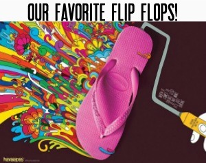 Havaianas flip flops