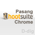 Cara Memasang Extension HootSuite Hootlet di Google Chrome