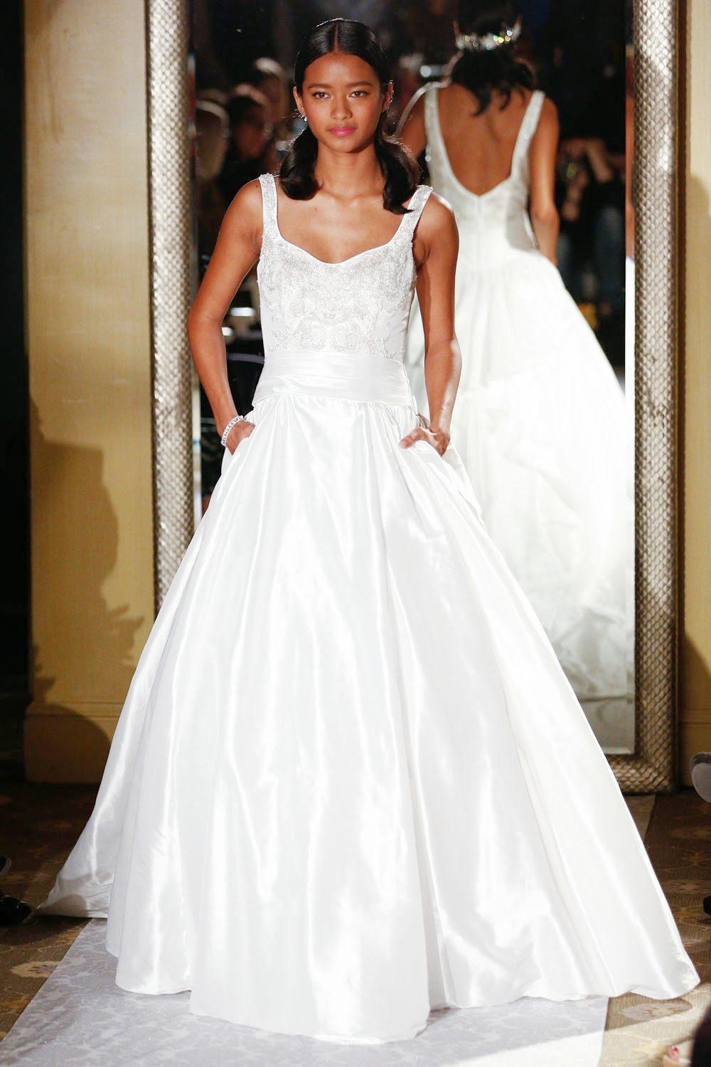 Oleg Cassini Spring 2015 Wedding Dresses