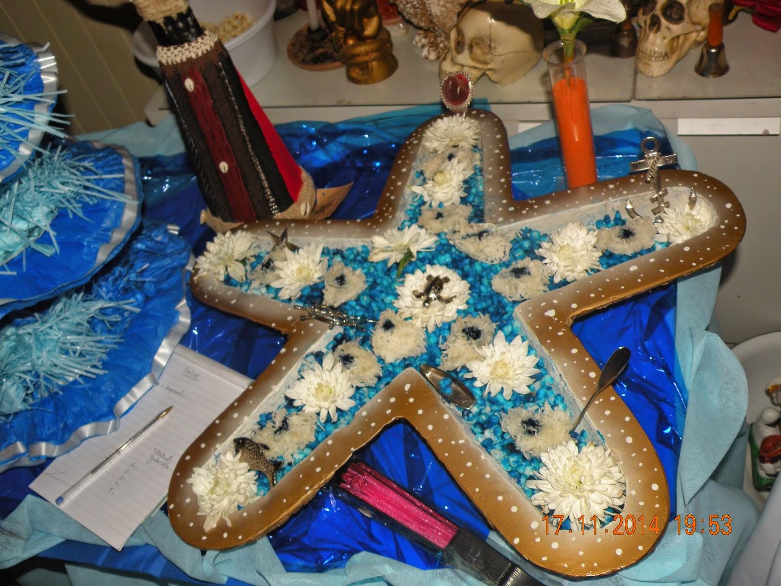 decoracao festa xango:Xangô: 1 Festa de Imenajá em nossas instalações