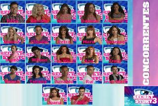 Concorrentes Secret Story 3
