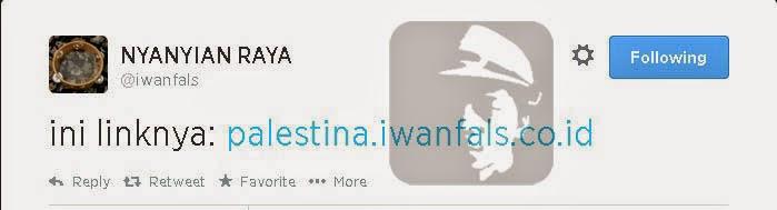 Lagu Iwan Fals Palestina