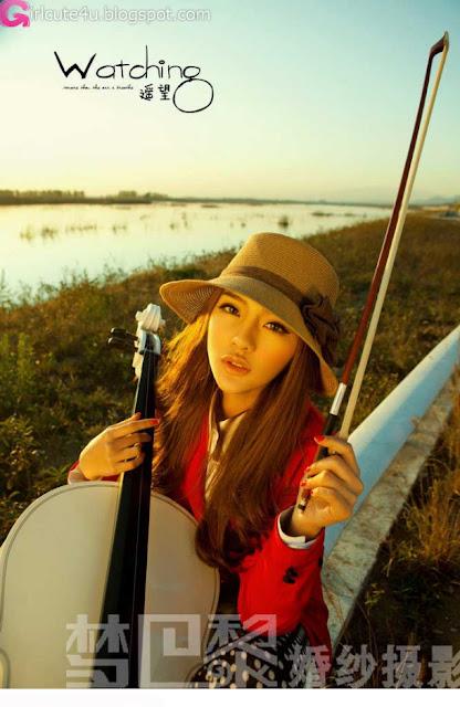 3 Liu Lu - Sprinkle love love-very cute asian girl-girlcute4u.blogspot.com