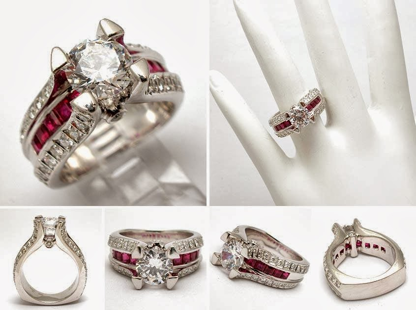 Engagement ring ruby and diamond engagement wedding rings 47 for Wedding rings with rubies and diamonds
