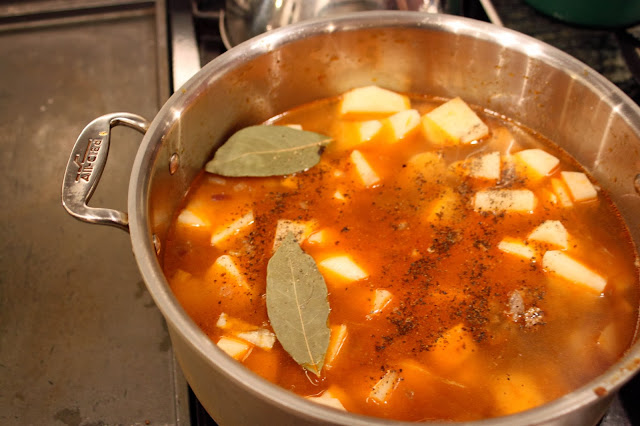 how to make goulash soft