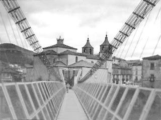Cangas del Narcea, puente colgante