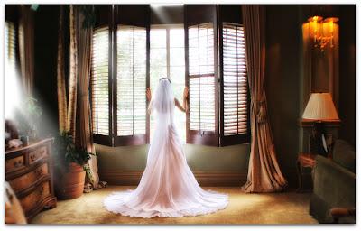 Свадебное фото: за мгновение до свадьбы