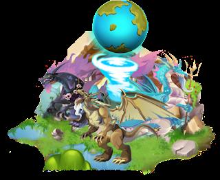 imagen del habitat olympo de dragon city