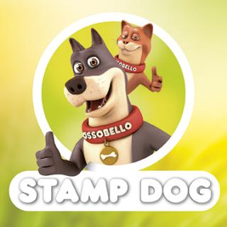 Stamp Dog , snack per cani e gatti.