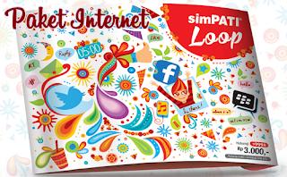 Daftar Paket Terbaru Harga Internet Simpati LOOP Android 2015