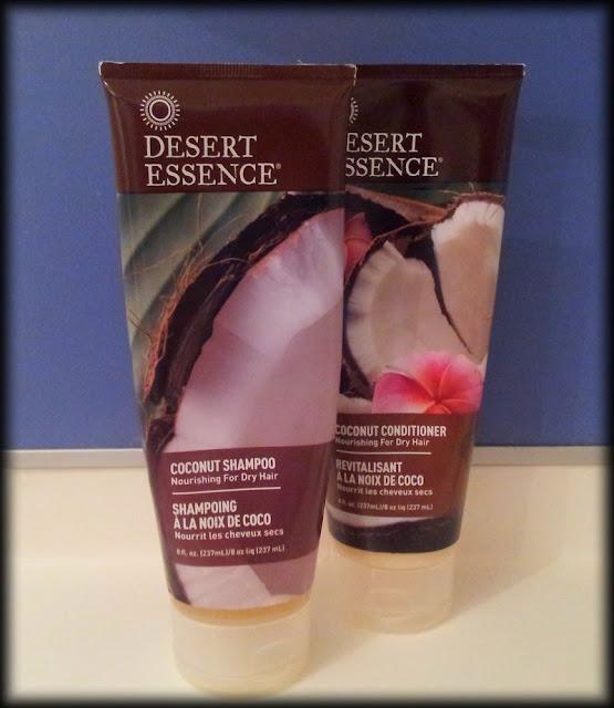 Shampooing et revitalisant à la noix de coco Desert Essence