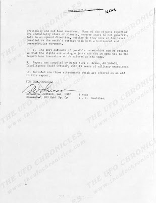 UFO Report at  Missile Sites, F E Warren AFB Wyoming (D) August 1965