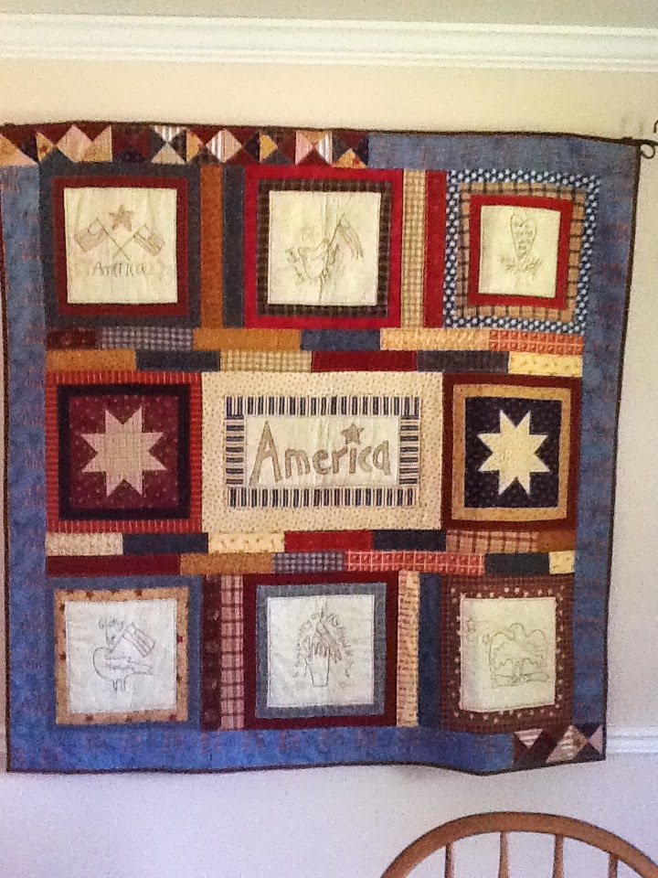 Tanya quilts in co patriotic quilts for Front door quilt pattern