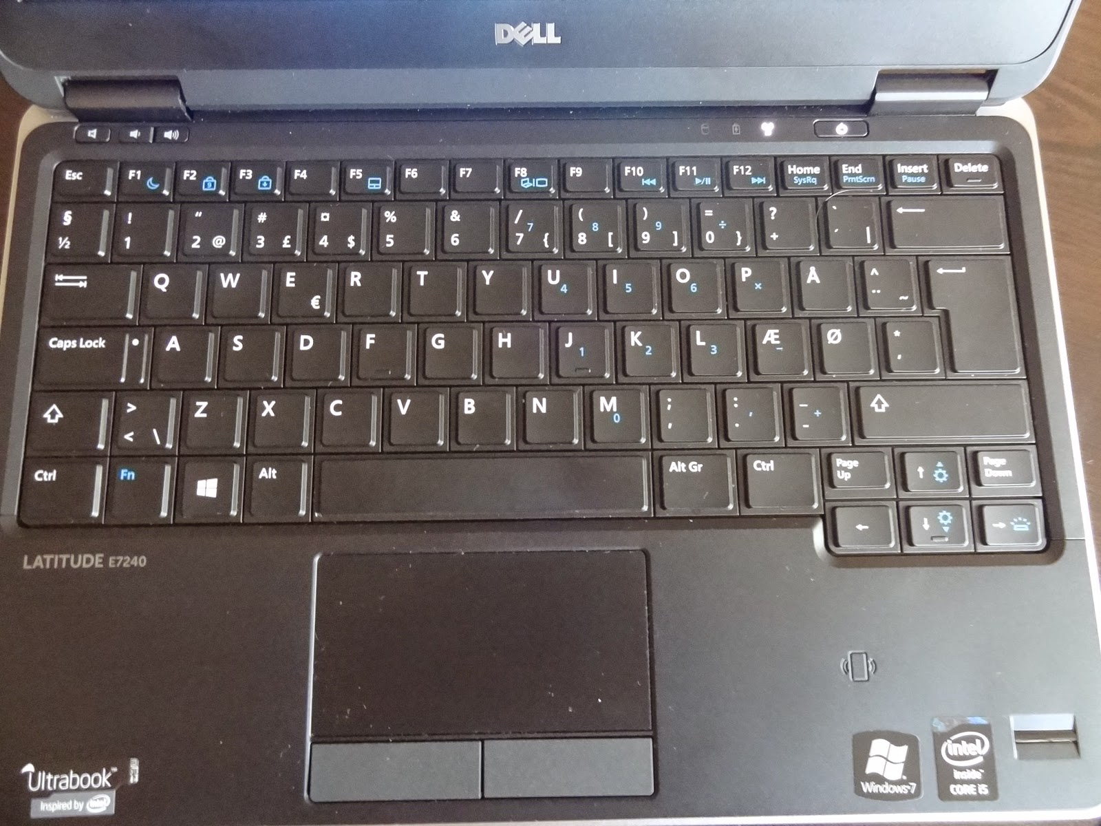 Dell Latitude E7240 touchpad