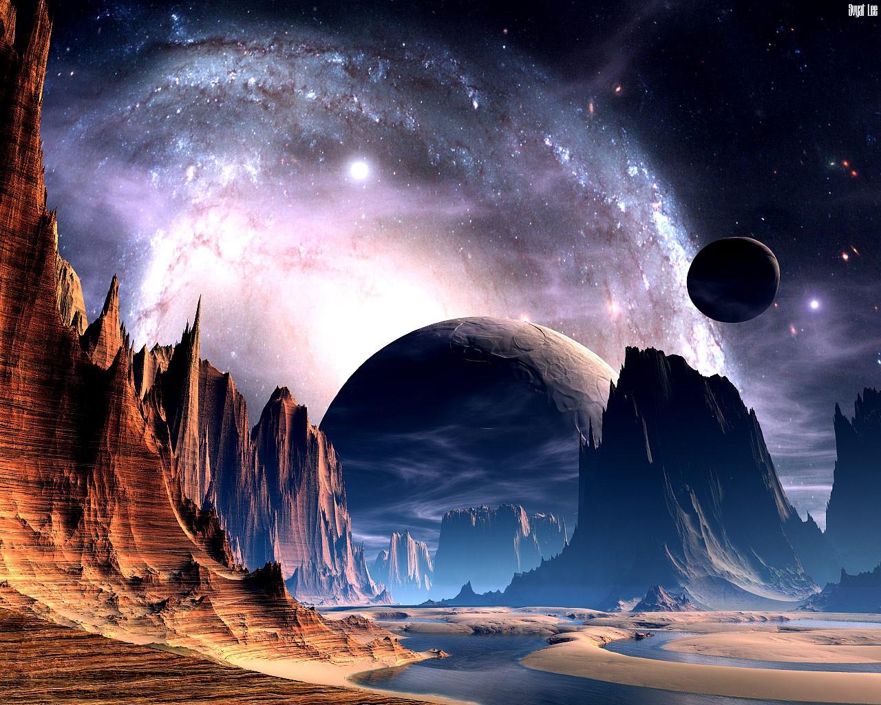 Foto Frontera: Imágenes de los planetas y el espacio